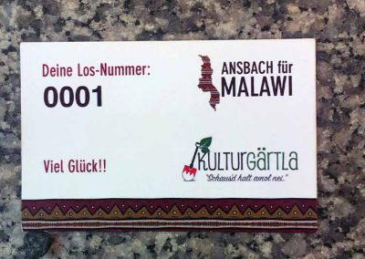 Benefiz-Tombola am Altstadtfest Ansbach